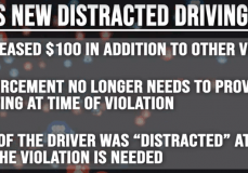 NEW OHIO LAW AGAINST DISTRACTED DRIVING.